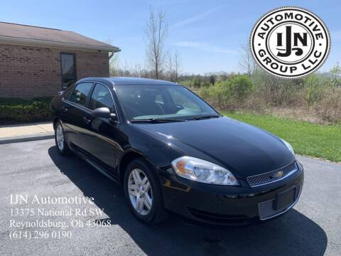 2012 Chevrolet Impala for sale at IJN Automotive Group LLC in Reynoldsburg OH