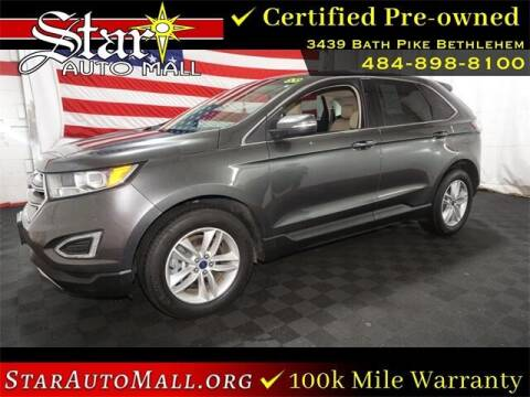 2018 Ford Edge for sale at STAR AUTO MALL 512 in Bethlehem PA