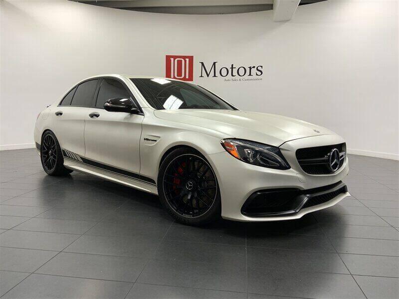 2018 Mercedes-Benz C-Class for sale at 101 MOTORS in Tempe AZ