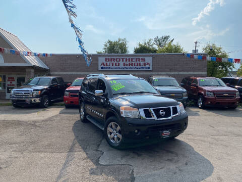 2010 Nissan Armada for sale at Brothers Auto Group in Youngstown OH