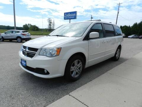 2012 Dodge Grand Caravan for sale at Leitheiser Car Company in West Bend WI