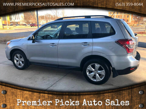 2015 Subaru Forester for sale at Premier Picks Auto Sales in Bettendorf IA