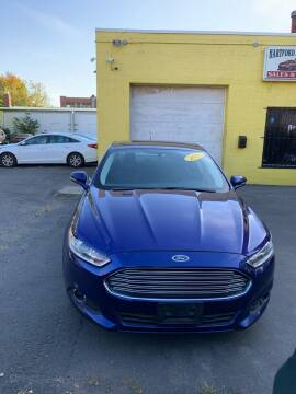 2013 Ford Fusion for sale at Hartford Auto Center in Hartford CT