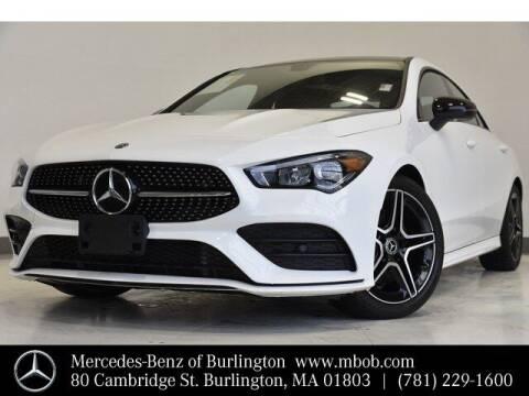 2020 Mercedes-Benz CLA for sale at Mercedes Benz of Burlington in Burlington MA