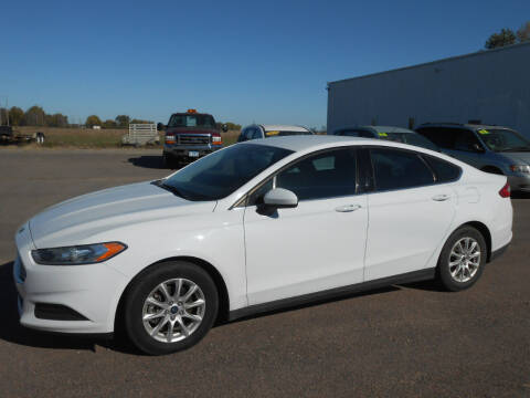 2016 Ford Fusion for sale at Salmon Automotive Inc. in Tracy MN