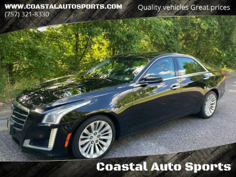 2016 Cadillac CTS for sale at Coastal Auto Sports in Chesapeake VA