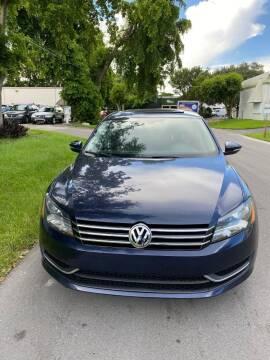 2012 Volkswagen Passat for sale at Roadmaster Auto Sales in Pompano Beach FL