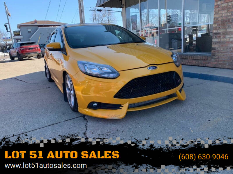 2013 Ford Focus for sale at LOT 51 AUTO SALES in Madison WI