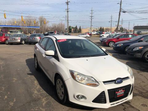 2012 Ford Focus for sale at Drive Max Auto Sales in Warren MI