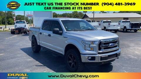 2015 Ford F-150 for sale at Duval Chevrolet in Starke FL