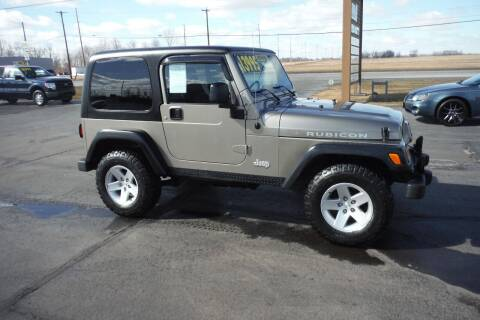 2004 Jeep Wrangler for sale at Bryan Auto Depot in Bryan OH