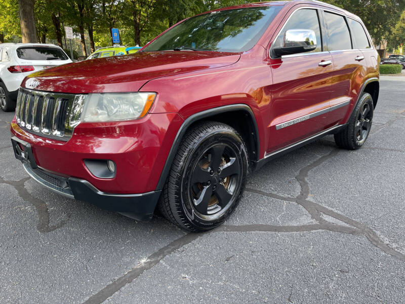 2012 Jeep Grand Cherokee for sale at United Luxury Motors in Stone Mountain GA