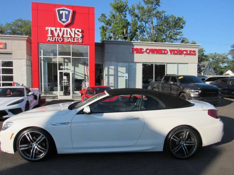 2018 BMW 6 Series for sale at Twins Auto Sales Inc in Detroit MI