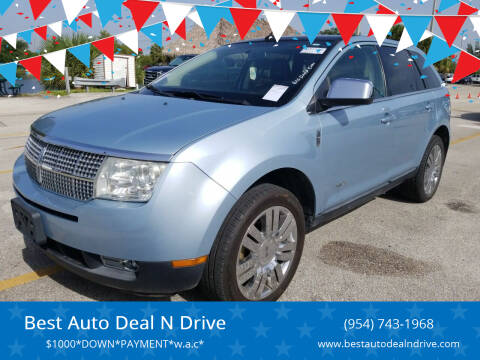 2008 Lincoln MKX for sale at Best Auto Deal N Drive in Hollywood FL