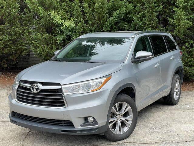 2014 Toyota Highlander for sale at Global Pre-Owned in Fayetteville GA