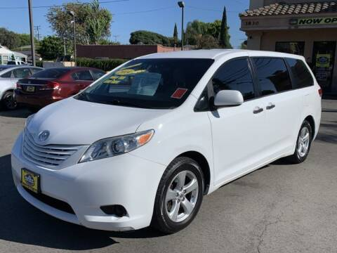 2014 Toyota Sienna for sale at Best Car Sales in South Gate CA