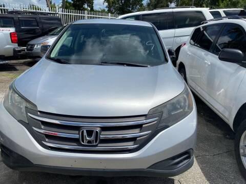 2012 Honda CR-V for sale at America Auto Wholesale Inc in Miami FL