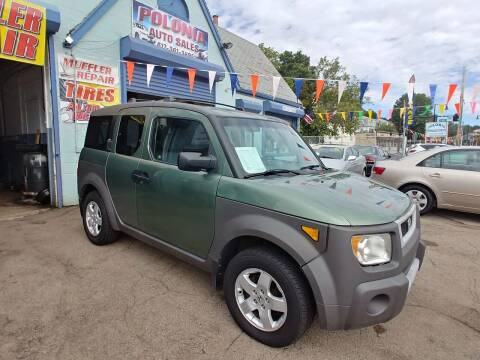 2003 Honda Element for sale at Polonia Auto Sales and Service in Hyde Park MA
