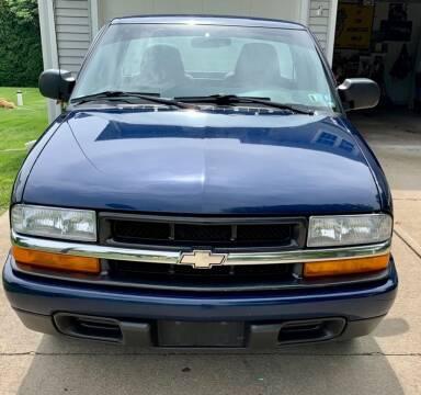 2003 Chevrolet S-10 for sale at AJ AUTO CENTER in Covington PA