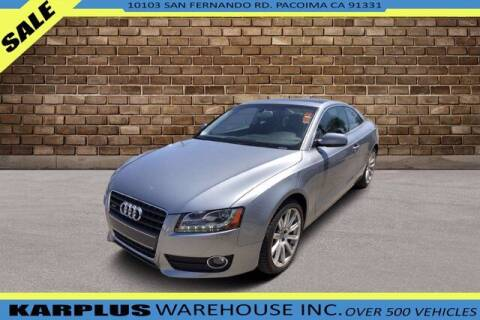 2011 Audi A5 for sale at Karplus Warehouse in Pacoima CA