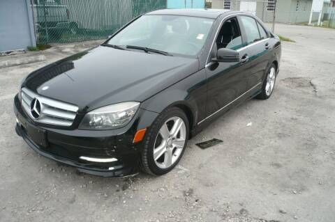 2011 Mercedes-Benz C-Class for sale at Eden Cars Inc in Hollywood FL