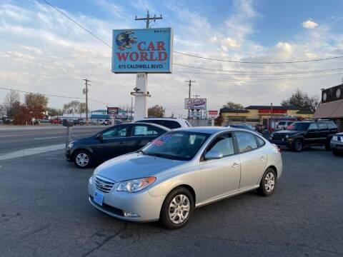 2010 Hyundai Elantra for sale at CAR WORLD in Nampa ID