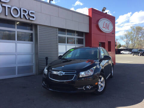 2014 Chevrolet Cruze for sale at Legend Motors of Waterford - Legend Motors of Detroit in Detroit MI