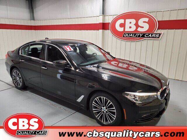2017 BMW 5 Series for sale at CBS Quality Cars in Durham NC