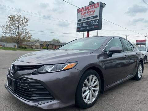 2018 Toyota Camry for sale at Unlimited Auto Group in West Chester OH