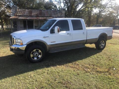 2004 Ford F-350 Super Duty for sale at Village Motors Of Salado in Salado TX