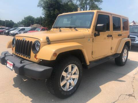 2013 Jeep Wrangler Unlimited for sale at Spady Used Cars in Holdrege NE