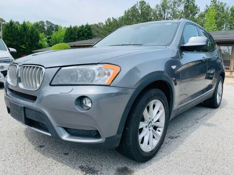 2014 BMW X3 for sale at Classic Luxury Motors in Buford GA