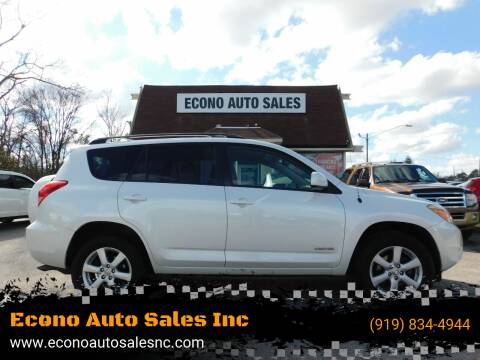 2007 Toyota RAV4 for sale at Econo Auto Sales Inc in Raleigh NC