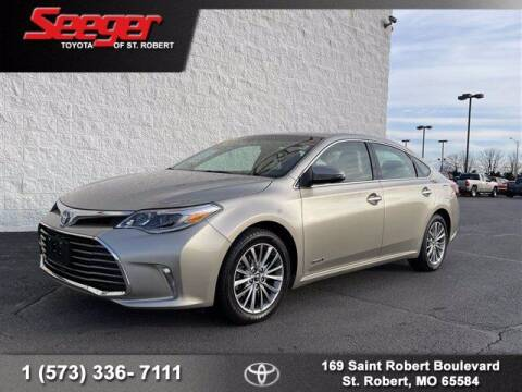 2016 Toyota Avalon Hybrid for sale at SEEGER TOYOTA OF ST ROBERT in St Robert MO