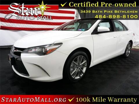 2017 Toyota Camry for sale at STAR AUTO MALL 512 in Bethlehem PA