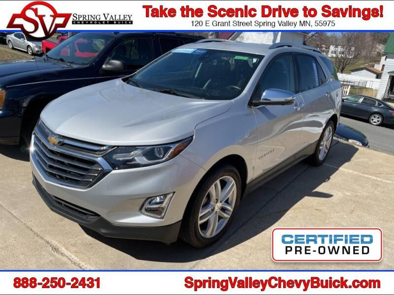 2020 Chevrolet Equinox for sale at Spring Valley Chevrolet Buick in Spring Valley MN