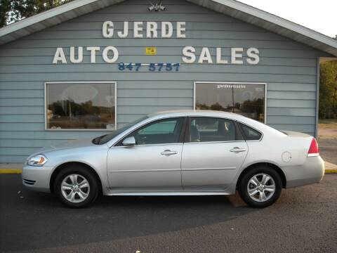 2014 Chevrolet Impala Limited for sale at GJERDE AUTO SALES in Detroit Lakes MN