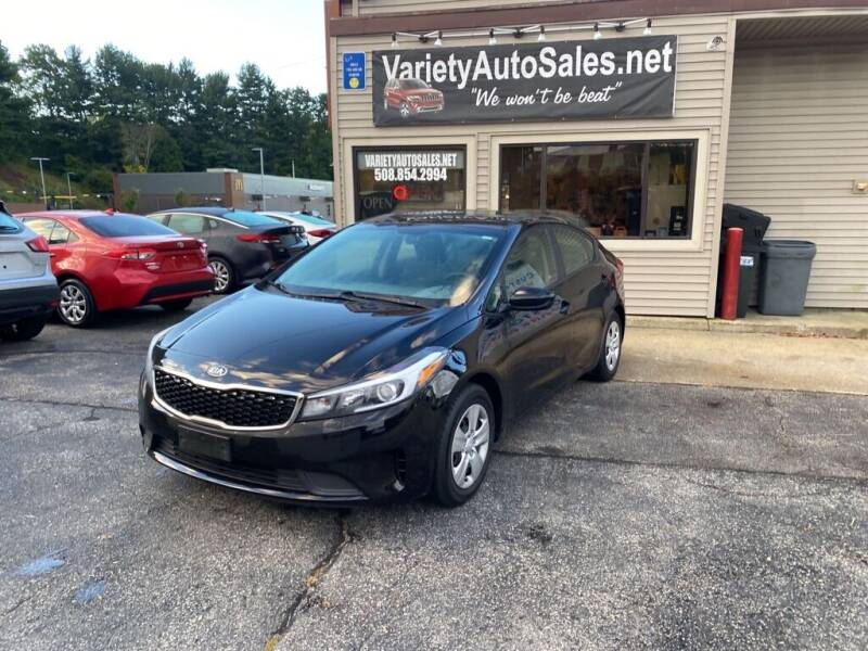 2018 Kia Forte for sale at Variety Auto Sales in Worcester MA
