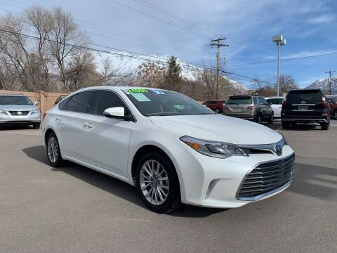 2017 Toyota Avalon for sale at Berge Auto in Orem UT