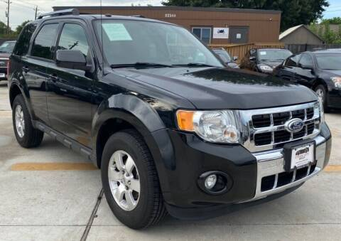 2011 Ford Escape for sale at DYNAMIC AUTO GROUP in Houston TX