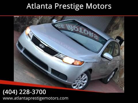 2013 Kia Forte for sale at Atlanta Prestige Motors in Decatur GA