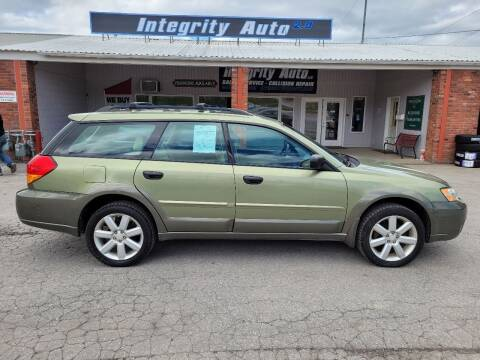 2007 Subaru Outback for sale at Integrity Auto LLC - Integrity Auto 2.0 in St. Albans VT