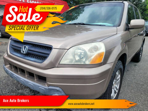 2003 Honda Pilot for sale at Ace Auto Brokers in Charlotte NC