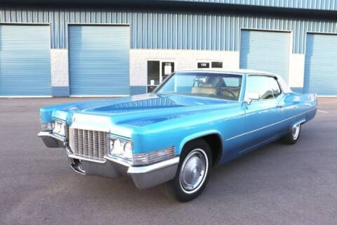 1970 Cadillac DeVille for sale at Classic Car Deals in Cadillac MI