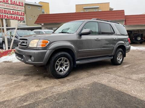 2004 Toyota Sequoia for sale at STS Automotive in Denver CO