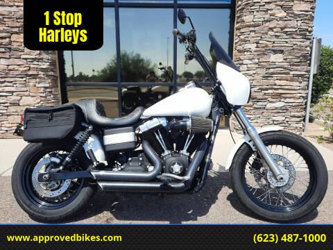 2010 Harley-Davidson Dyna Street bob FXDB for sale at 1 Stop Harleys in Peoria AZ