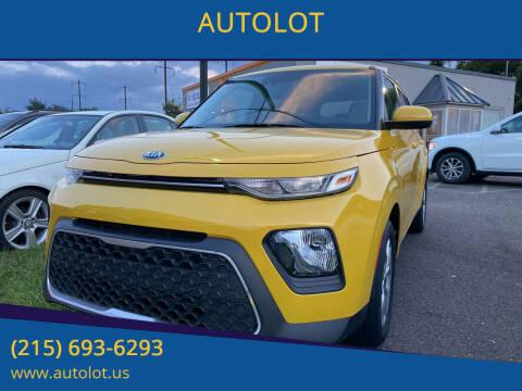 2020 Kia Soul for sale at AUTOLOT in Bristol PA