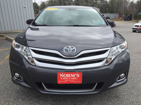 2015 Toyota Venza for sale at NORM'S USED CARS INC - Trucks By Norm's in Wiscasset ME