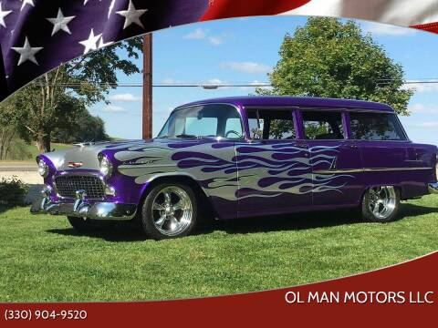 1955 Chevrolet 210 for sale at Ol Man Motors LLC in Louisville OH