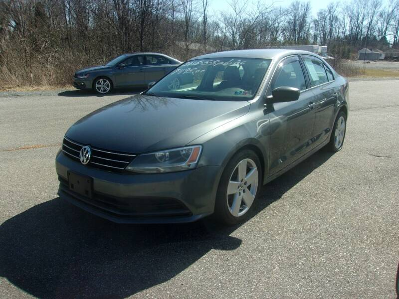 2015 Volkswagen Jetta for sale at ULRICH SALES & SVC in Mohnton PA